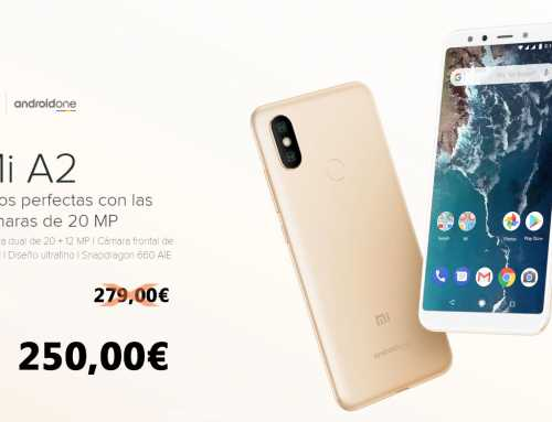 Solo hasta el Lunes tu Xiaomi Mi A2 al mejor precio.